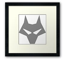 Timber Wolf Lazy Cosplay Framed Print