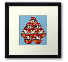 Mount Daruma Framed Print