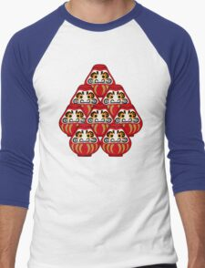 Mount Daruma Men's Baseball ¾ T-Shirt