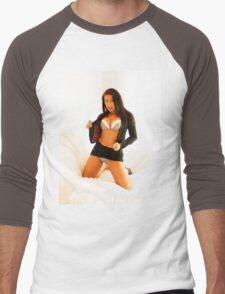 TandA Girl - Sophie Star Men's Baseball ¾ T-Shirt