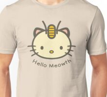 Hello Meowth Unisex T-Shirt
