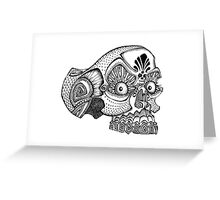 Morte the Skull  Greeting Card
