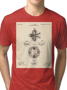 Telephone Transmitter-1898 Tri-blend T-Shirt