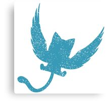 Blue Happy, Fairy Tail Anime Canvas Print
