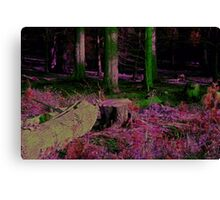 Mystical Fairy Forest Canvas Print