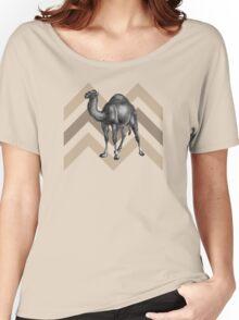 Dromedary Chevron Women's Relaxed Fit T-Shirt