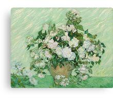 Vincent Van Gogh - Roses - Van Gogh - Roses  Canvas Print
