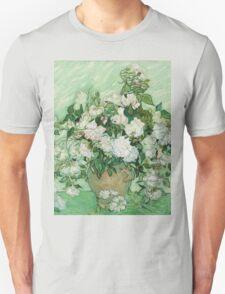 Vincent Van Gogh - Roses  T-Shirt