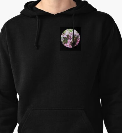Anchor amongst the tree.  Pullover Hoodie