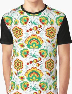 Slavic Pattern, white background Graphic T-Shirt