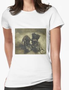 Vincent Van Gogh - Shoes - Van Gogh - Shoes  Womens Fitted T-Shirt