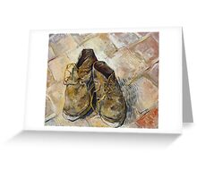 Vincent Van Gogh - Shoes - Van Gogh - Shoes  Greeting Card