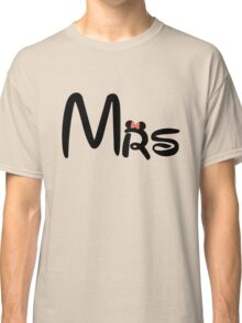 Honeymoon Mr and Mrs T-shirts Classic T-Shirt