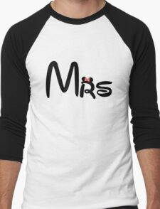 Honeymoon Mr and Mrs T-shirts Men's Baseball ¾ T-Shirt