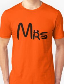 Honeymoon Mr and Mrs T-shirts T-Shirt