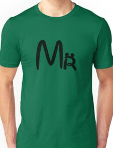 Honeymoon Mr and Mrs T-shirts Unisex T-Shirt