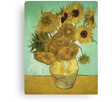 Vincent Van Gogh - Sunflowers  Canvas Print