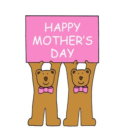 Happy Mother's Day from twin girls. Sticker