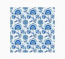 Slavic Pattern, blue and white Classic T-Shirt