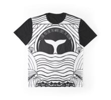 Whale at sunset Graphic T-Shirt