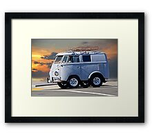 VW 'Southpark' Bus Framed Print