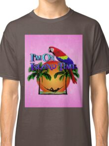 Island Time Pink Classic T-Shirt