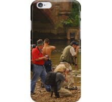 Photographers at Appleby Horse Fair. iPhone Case/Skin