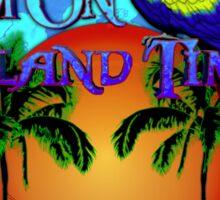 Island Time Honu Sticker