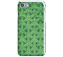 green geometric pattern 2.0 iPhone Case/Skin