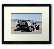 1932 Ford Tudor Sedan 'Satin Doll' I Framed Print