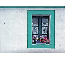 A Window in Brittany Photographic Print