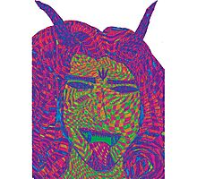 Psychedelic Devil Photographic Print