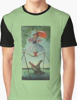 Haunted mansion umbrela Graphic T-Shirt