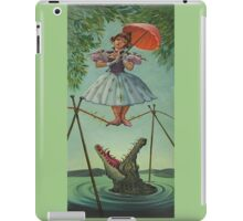 Haunted mansion umbrela iPad Case/Skin