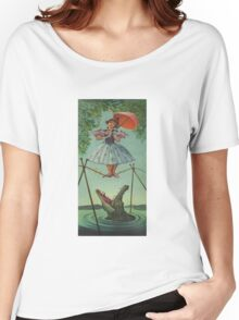 Haunted mansion umbrela Women's Relaxed Fit T-Shirt