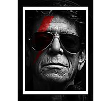 Lou Reed Photographic Print
