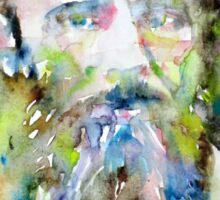 FYODOR DOSTOYEVSKY - watercolor portrait.6 Sticker
