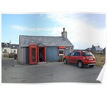 Ness Post Office, Lewis Poster