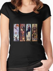 All haunted mansion Women's Fitted Scoop T-Shirt