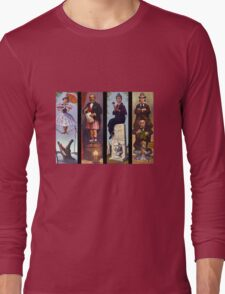 All haunted mansion Long Sleeve T-Shirt