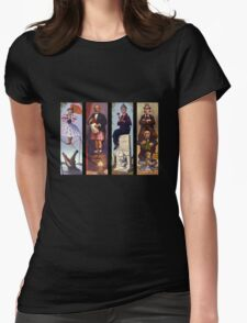 All haunted mansion Womens Fitted T-Shirt