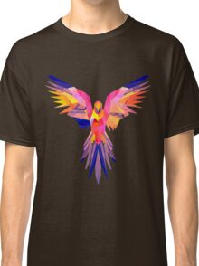 Low-Poly Tropical Bird Classic T-Shirt