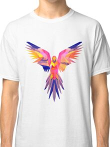 Low-Poly Tropical Bird Classic T-Shirt