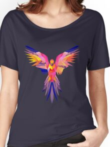 Low-Poly Tropical Bird Women's Relaxed Fit T-Shirt