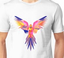 Low-Poly Tropical Bird Unisex T-Shirt