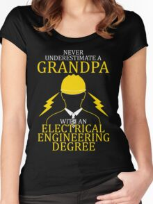 Electrical Engineering Grandpa Women's Fitted Scoop T-Shirt