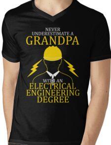 Electrical Engineering Grandpa Mens V-Neck T-Shirt