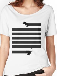 dachshund sausage dog Women's Relaxed Fit T-Shirt