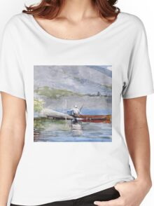 Winslow Homer - The Red Canoe Women's Relaxed Fit T-Shirt
