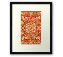 - Golden pattern - Framed Print